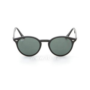 Очки Ray-Ban Highstreet RB2180-601-71 Black / Grey/Green, вид спереди
