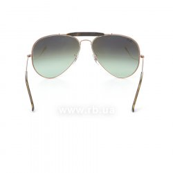 Очки Ray-Ban Outdoorsman II RB3029-9002-A6 Bronze | Faded Green 24