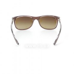 Очки Ray-Ban New Wayfarer Color Mix RB2132-6145-85 Shiny Brown  On Crystal | Brown Faded Yellow 24
