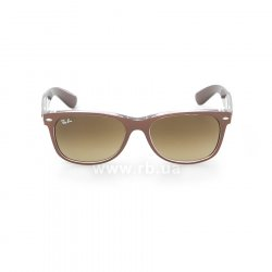 Очки Ray-Ban New Wayfarer Color Mix RB2132-6145-85 Shiny Brown  On Crystal | Brown Faded Yellow 48
