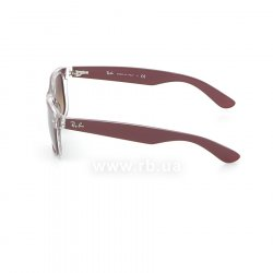 Очки Ray-Ban New Wayfarer Color Mix RB2132-6054-85 Aubergine On Crystal | Brown Faded Yellow 12