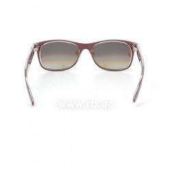 Очки Ray-Ban New Wayfarer Color Mix RB2132-6054-85 Aubergine On Crystal | Brown Faded Yellow 24