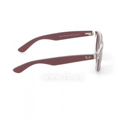 Очки Ray-Ban New Wayfarer Color Mix RB2132-6054-85 Aubergine On Crystal | Brown Faded Yellow 36