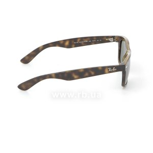Очки Ray-Ban New Wayfarer RB2132-902 Tortoise/Natural Green (G-15XLT), вид справа