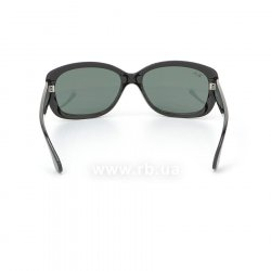 Очки Ray-Ban Jackie Ohh RB4101-601 Black | Natural Green (G-15XLT) 24