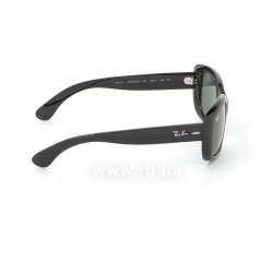 Очки Ray-Ban Jackie Ohh RB4101-601 Black | Natural Green (G-15XLT) 36