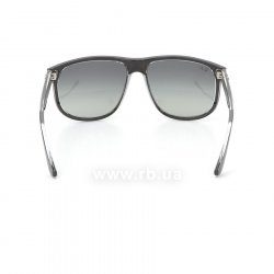 Очки Ray-Ban Highstreet RB4147-6039-71 Black On Crystal | Grey/Green 24