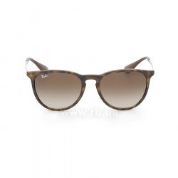 Очки Ray-Ban Erika RB4171-865-13 Avana Rubber/Gradient Brown, вид спереди