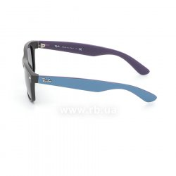 Очки Ray-Ban New Wayfarer Color Mix RB2132-6183-71 Black/Blue/Violet| Gradient Grey, вид слева