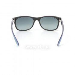 Очки Ray-Ban New Wayfarer Color Mix RB2132-6183-71 Black/Blue/Violet| Gradient Grey, вид сзади