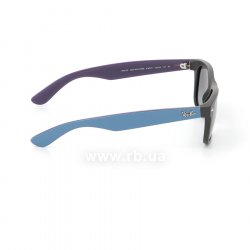 Очки Ray-Ban New Wayfarer Color Mix RB2132-6183-71 Black/Blue/Violet| Gradient Grey, вид справа