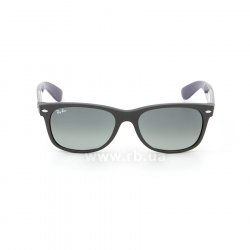 Очки Ray-Ban New Wayfarer Color Mix RB2132-6183-71 Black/Blue/Violet| Gradient Grey, вид спереди