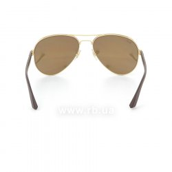 Очки Ray-Ban Active Lifestyle Aviator RB3523-112-2Y Matt Arista/ Matt Brown| Pink Mirror, вид сзади