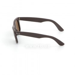 Очки Ray-Ban Original Wayfarer Leather RB2140QM-1153-N6 Brown Leather | Neophan Polar Brown P3 Plus 12