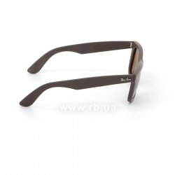 Очки Ray-Ban Original Wayfarer Leather RB2140QM-1153-N6 Brown Leather | Neophan Polar Brown P3 Plus 36