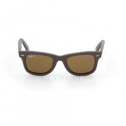 Очки Ray-Ban Original Wayfarer Leather RB2140QM-1153-N6 Brown Leather | Neophan Polar Brown P3 Plus 48