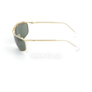 Очки Ray-Ban Olympian RB3119-001 Arista | Natural Green (G-15XLT), вид слева