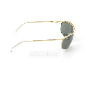 Очки Ray-Ban Olympian RB3119-001 Arista | Natural Green (G-15XLT), вид справа