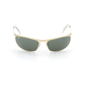 Очки Ray-Ban Olympian RB3119-001 Arista | Natural Green (G-15XLT), вид спереди