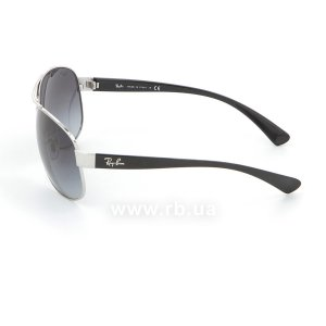 Очки Ray-Ban Active Lifestyle RB3386-003-8G Silver/APX Gradient Grey, вид слева