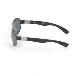 Очки Ray-Ban Active Lifestyle RB3509-004-9A Gunmetal / Black, вид слева
