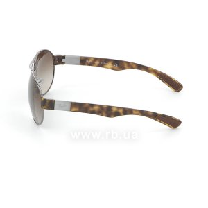 Очки Ray-Ban Active Lifestyle RB3509-004-13 Gunmetal | Gradient Brown, вид слева