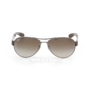 Очки Ray-Ban Active Lifestyle RB3509-004-13 Gunmetal | Gradient Brown, вид спереди