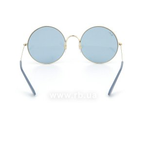 Очки Ray-Ban Ja-Jo RB3592-001-F7 Arista | Natural Blue, вид сзади