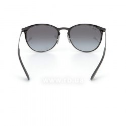 Очки Ray-Ban Erika Metal RB3539-002-8G Black | Grey Gragient, вид сзади