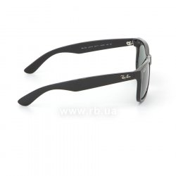 Очки Ray-Ban Justin RB4165-601-71 Black | Grey/Green 36