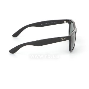 Очки Ray-Ban Justin RB4165-601-71 Black | Grey/Green, вид справа