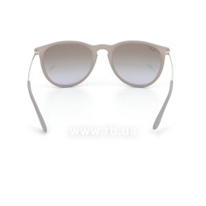 Очки Ray-Ban Erika RB4171-6000-68 Sand Rubber | APX Brown Faded Violet, вид сзади