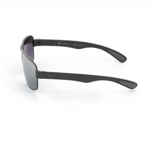 Очки Ray-Ban Active Lifestyle RB3522-006-82 Matt Black | Grey Mirror Polarized, вид слева