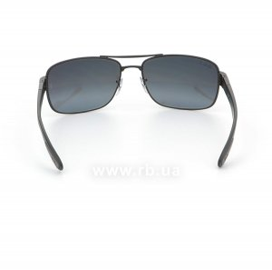 Очки Ray-Ban Active Lifestyle RB3522-006-82 Matt Black | Grey Mirror Polarized, вид сзади