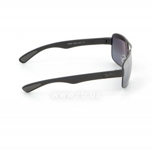 Очки Ray-Ban Active Lifestyle RB3522-006-82 Matt Black | Grey Mirror Polarized, вид справа