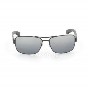 Очки Ray-Ban Active Lifestyle RB3522-006-82 Matt Black | Grey Mirror Polarized, вид спереди
