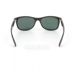 Очки Ray-Ban New Wayfarer RB2132-901-58 Black | Natural Green Polarized, вид сзади