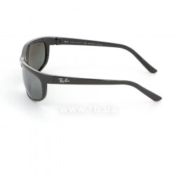 Очки Ray-Ban Predator 2 RB2027-601-W1 Black | Polarized Crystal Mirror Gray , вид слева