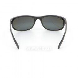 Очки Ray-Ban Predator 2 RB2027-601-W1 Black | Polarized Crystal Mirror Gray , вид сзади