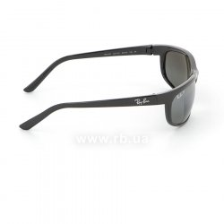 Очки Ray-Ban Predator 2 RB2027-601-W1 Black | Polarized Crystal Mirror Gray , вид справа