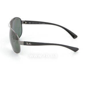 Очки Ray-Ban Active Lifestyle RB3386-004-9A Gunmetal | APX Polar Grey/Green, вид слева