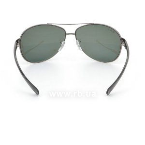Очки Ray-Ban Active Lifestyle RB3386-004-9A Gunmetal | APX Polar Grey/Green, вид сзади