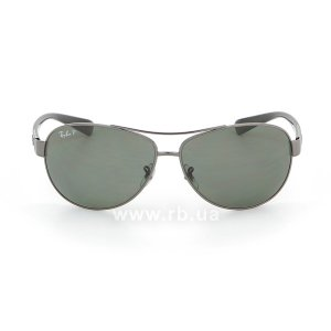 Очки Ray-Ban Active Lifestyle RB3386-004-9A Gunmetal | APX Polar Grey/Green, вид спереди