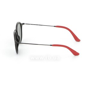 Очки Ray-Ban Scuderia Ferrari Collection RB2447NM-F602-30 Black / Red | Crystal Silver Mirror, вид слева