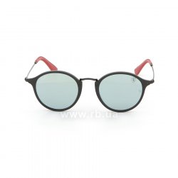 Очки Ray-Ban Scuderia Ferrari Collection RB2447NM-F602-30 Black / Red | Crystal Silver Mirror 48