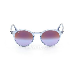 Очки Ray-Ban Highstreet RB2180-6278-A9 Transparent Blue| Pink Violet, вид спереди