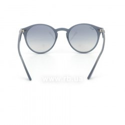 Очки Ray-Ban Highstreet RB2180-6232-7B Blue | Blue GSM, вид сзади