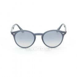 Очки Ray-Ban Highstreet RB2180-6232-7B Blue | Blue GSM, вид спереди