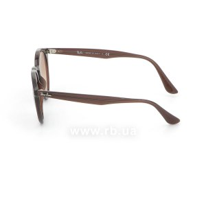 Очки Ray-Ban Highstreet RB2180-6231-3D Dark Brown | Light Brown, вид слева