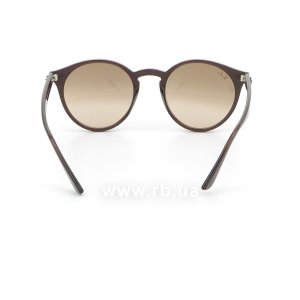 Очки Ray-Ban Highstreet RB2180-6231-3D Dark Brown | Light Brown, вид сзади